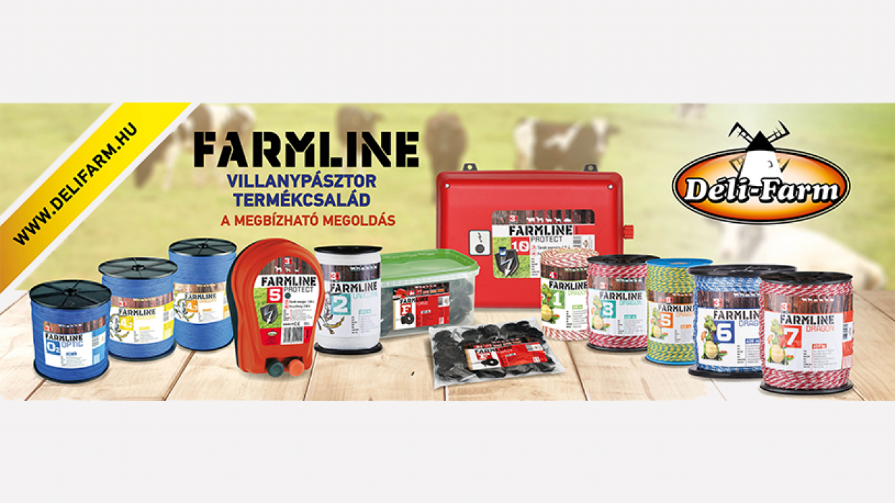 FarmLine villanypásztor termékcsalád